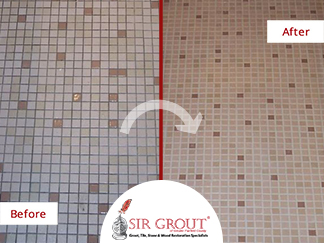 Fairfield Customer Avoids Costly Retiling Project with Grout ...